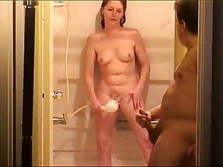 Couple Shower Orgasm