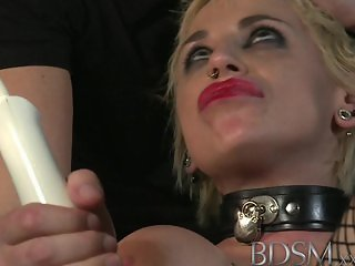 BDSM XXX - Sexy Spanish sub gets a rude