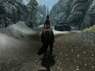Skyrim Test Video