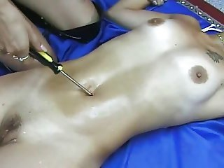 Navel torture SEXY