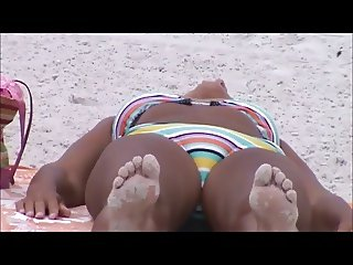 hot mature beach crotch shot 108 puffy pussy