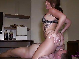 Bubble Butt Facesitting #2