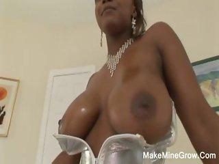 Horny Ebony Sucks Dick And Fucked