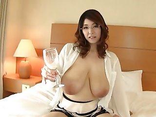Mio Sakuragi-Breast milk drink Part1 by TOM