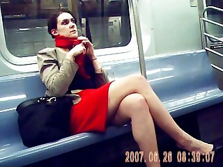 red skirt train legs 2