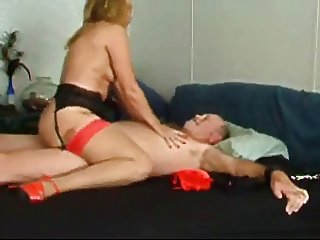 Mustache stepdaddy fuck wife
