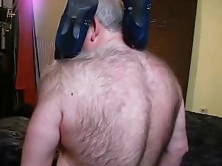 Mature Bisex, hairy old man