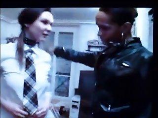 Mistress Columbia educate female stooge
