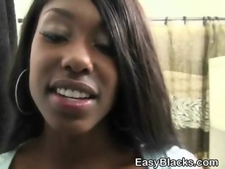 Very Pretty Black Ex Girlfriend Gives Wicked Head POV