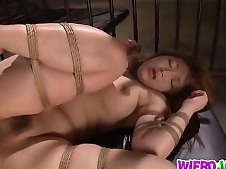 Dick riding with Shiori Kamisaki