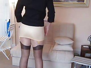 204 girdle mature underwear mieder