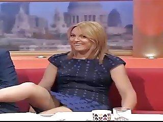 GMTV Upskirt Helen Fospero