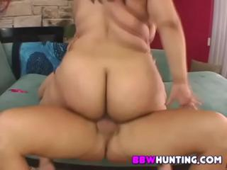 Fat chick with wet hairy pussy