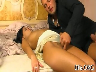 Defloration episode scene