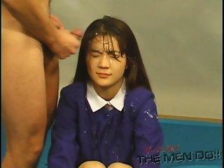 Bukkake Highschool Lesson 13 44 Japanese uncensored blowjob