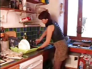 mature in the kitchen