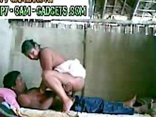 My indian maid with boyfriend n Hidden Camera