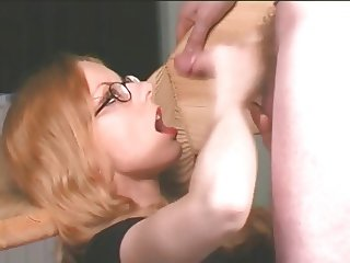 amateur blonde jerks off her man