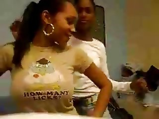 Dominican with huge tits dances - Who is she