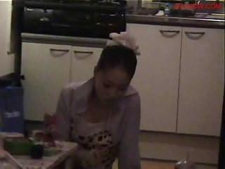 Amateur Korean Chick Hard Homemade new