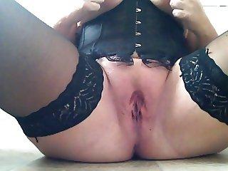 Mature corset wearer.