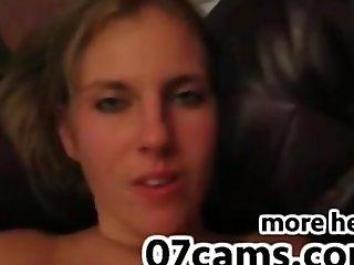 Condom cumshot amateur babe