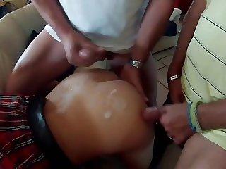 Corinne se fait souiller le cul !!!