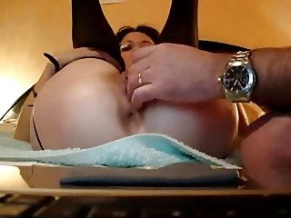 Pussy fingering and fisting