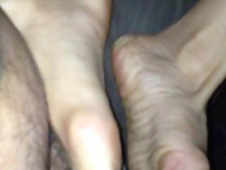 Footjob from Vietnamese girl 2