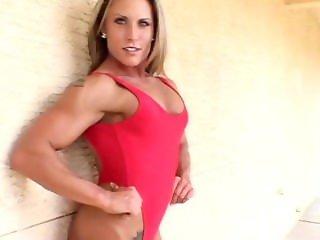 Lisa Bickels Red Bikini