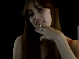 Sissy Training - Sexy Smoker Enjoys Gay Anal