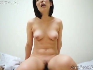 Japanese Nympho MILF Riding Orgasm