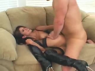 Shy Love's kinky sex.