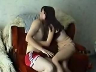 Teen Sister seduced step-brother while mother at work