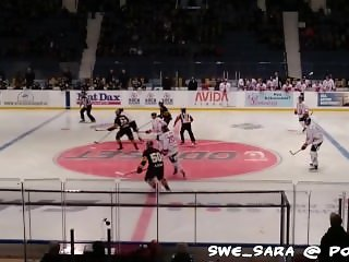 Fucking in Public - At the hockey game