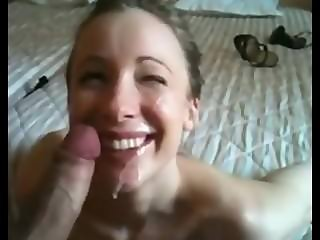 MESSY CUMSHOT ON FACE