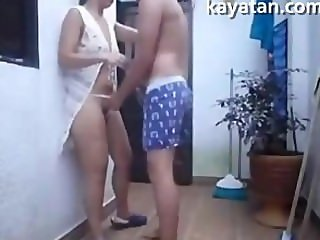 Hot Malay Rich Babe Fuck While Standing