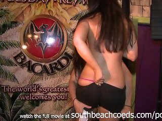 gorgeous college girls in a fat tuesday key west wet tshirt contest nude