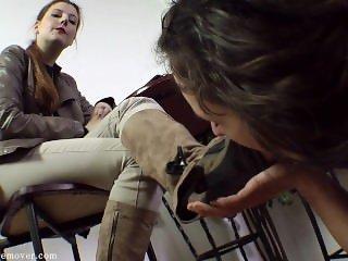 Lesbian Socks & Feet Worship