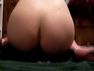 huge dildo in a super tight butthole (me)