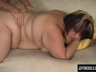Chunky, Mature Bonita takes cock