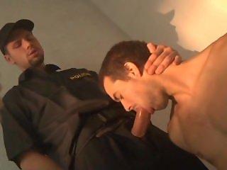 Policeman fucks bareback