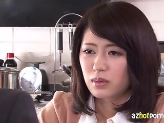 Beautiful Asian Wife Betraying Her Husband