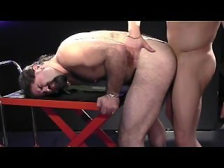 Backroom Muscle Daddies - Scene 3