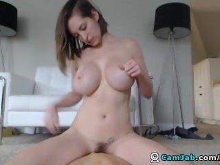 Huge Tits Babe ElaySmith Rides Hard
