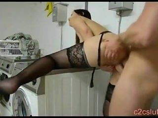 Hot German Amateur in black Stockings DKD