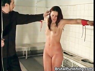 Hard core bdsm and brutal punishement part5