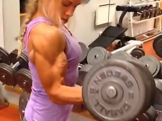 Pumped Up Biceps