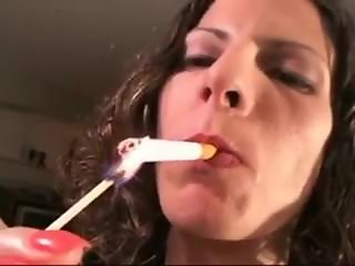 mommy smoking a sexy cigarette