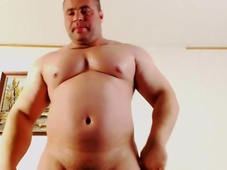 Romanian Bodybuilder Marcu Ionel Cums on Cam Full Version